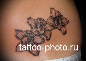значение и смысл татуировки орхидея фото