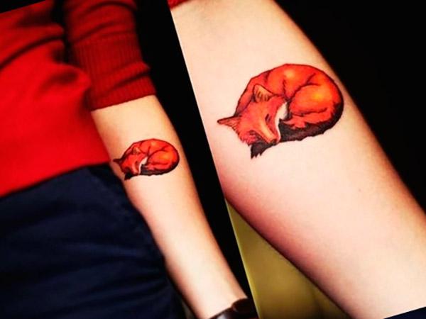Значение татуировки «Лиса» — фото