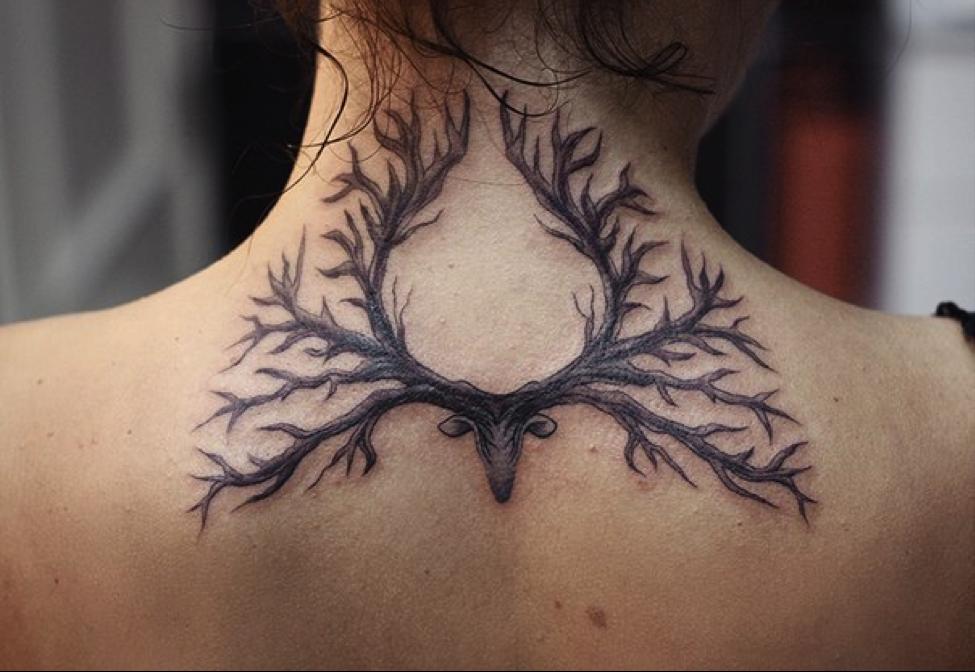 Значение татуировки «Олень» — фото