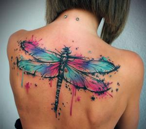 Значение татуировки «Стрекоза» - фото