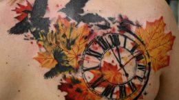 Значение татуировки «Часы» - фото