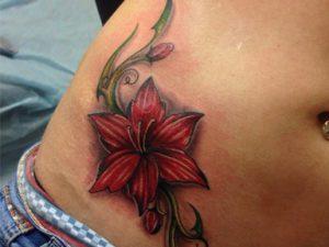 Значение татуировки лилия - фото