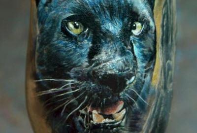 Значение тату «Пантера» - фото