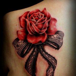 Значение тату «Роза» - смысл и варианты - фото