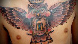 Значение тату сова – интересные факты и история - фото