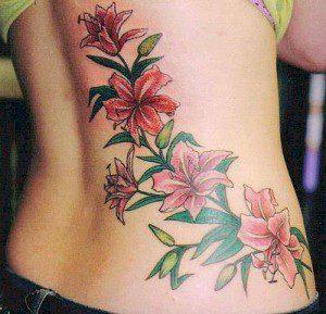 Значение тату цветов - фото