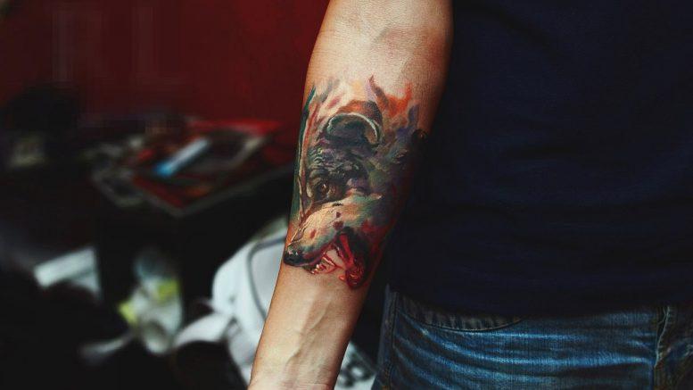 Изображения животных в тату - фото