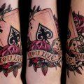 История и значение татуировки карты - фото