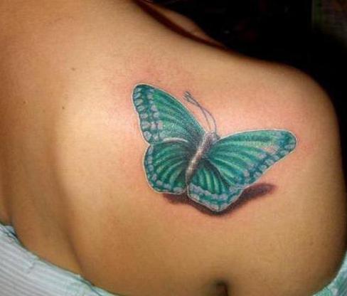 Что значит бабочка в татуировке — смысл и значение — фото