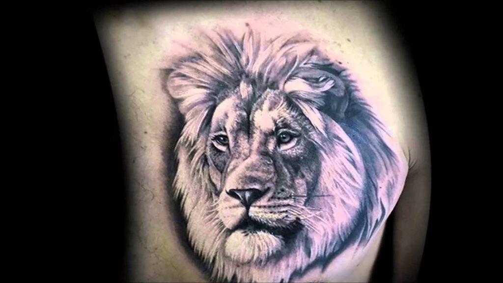 Что значит лев в тату — фото