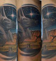фото тату Анубис от 15.11.2017 №004 — Anubis tattoo — tattoo-photo.ru