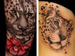 фото тату Леопард от 18.11.2017 №090 - tattoo Leopard - tattoo-photo.ru