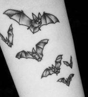фото тату Летучая мышь от 19.11.2017 №005 — tattoo Bat — tattoo-photo.ru