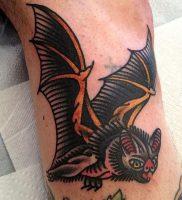 фото тату Летучая мышь от 19.11.2017 №012 — tattoo Bat — tattoo-photo.ru