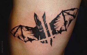 фото тату Летучая мышь от 19.11.2017 №027 - tattoo Bat - tattoo-photo.ru