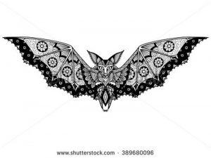 фото тату Летучая мышь от 19.11.2017 №068 - tattoo Bat - tattoo-photo.ru