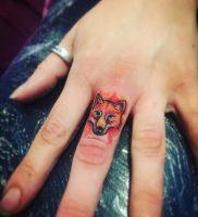 фото тату Лиса от 18.11.2017 №003 — Fox tattoo — tattoo-photo.ru