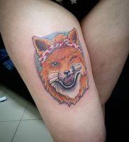 фото тату Лиса от 18.11.2017 №004 — Fox tattoo — tattoo-photo.ru