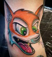 фото тату Лиса от 18.11.2017 №005 — Fox tattoo — tattoo-photo.ru