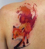 фото тату Лиса от 18.11.2017 №007 — Fox tattoo — tattoo-photo.ru