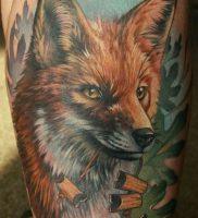фото тату Лиса от 18.11.2017 №008 — Fox tattoo — tattoo-photo.ru