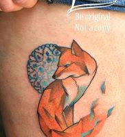 фото тату Лиса от 18.11.2017 №012 — Fox tattoo — tattoo-photo.ru
