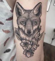 фото тату Лиса от 18.11.2017 №014 — Fox tattoo — tattoo-photo.ru