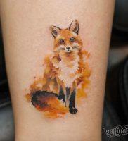 фото тату Лиса от 18.11.2017 №137 — Fox tattoo — tattoo-photo.ru
