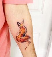 фото тату Лиса от 18.11.2017 №138 — Fox tattoo — tattoo-photo.ru