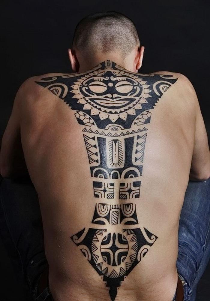 менее, предлагаем фото этнических татуировок неё была такая