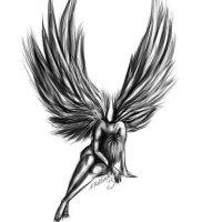 фото тату ангел от 14.11.2017 №004 — tattoo angel — tattoo-photo.ru