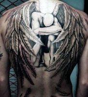 фото тату ангел от 14.11.2017 №005 — tattoo angel — tattoo-photo.ru