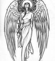 фото тату ангел от 14.11.2017 №007 — tattoo angel — tattoo-photo.ru