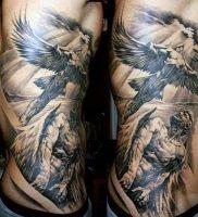фото тату ангел от 14.11.2017 №014 — tattoo angel — tattoo-photo.ru