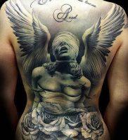 фото тату ангел от 14.11.2017 №016 — tattoo angel — tattoo-photo.ru