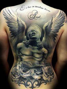 фото тату ангел от 14.11.2017 №016 - tattoo angel - tattoo-photo.ru