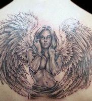 фото тату ангел от 14.11.2017 №018 — tattoo angel — tattoo-photo.ru