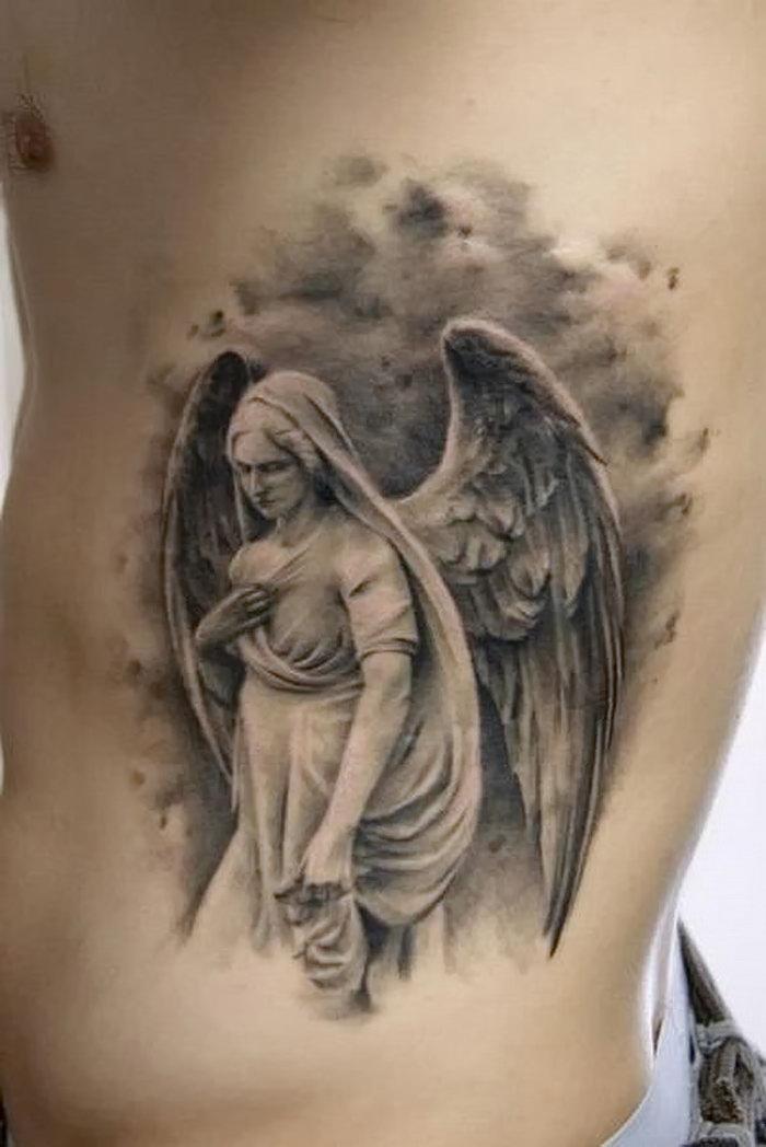 Смотреть все тату картинки ангела