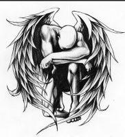 фото тату ангел от 14.11.2017 №068 — tattoo angel — tattoo-photo.ru