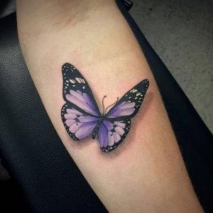 фото тату бабочка от 14.11.2017 №008 - butterfly tattoos - tattoo-photo.ru