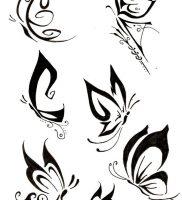 фото тату бабочка от 14.11.2017 №011 — butterfly tattoos — tattoo-photo.ru
