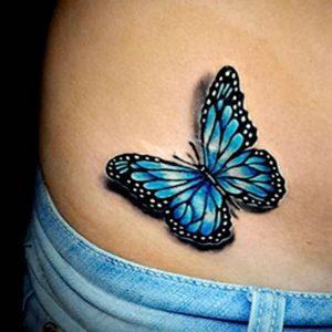 фото тату бабочка от 14.11.2017 №015 - butterfly tattoos - tattoo-photo.ru
