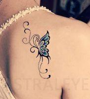 фото тату бабочка от 14.11.2017 №016 — butterfly tattoos — tattoo-photo.ru