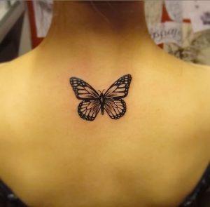фото тату бабочка от 14.11.2017 №041 - butterfly tattoos - tattoo-photo.ru