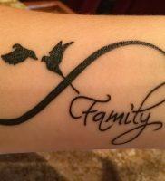 фото тату бесконечность от 14.11.2017 №013 — tattoo infinity — tattoo-photo.ru