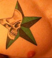 фото тату звезда от 14.11.2017 №016 — star tattoo — tattoo-photo.ru