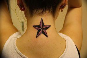 фото тату звезда от 14.11.2017 №050 - star tattoo - tattoo-photo.ru