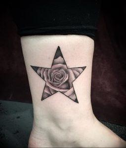фото тату звезда от 14.11.2017 №058 - star tattoo - tattoo-photo.ru