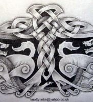фото тату кельтские узоры от 23.11.2017 №007 — tattoo celtic patterns — tattoo-photo.ru