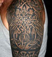 фото тату кельтские узоры от 23.11.2017 №011 — tattoo celtic patterns — tattoo-photo.ru